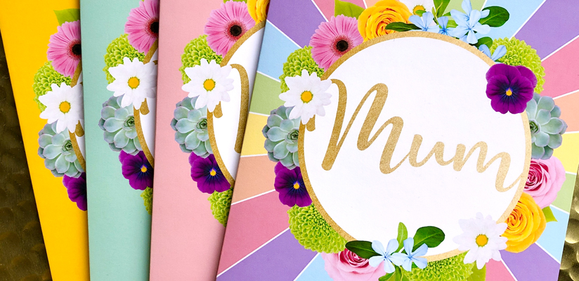 Header image for Floral Greetings Cards for Mum and Nan