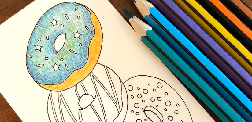 header image for world book day bookmark and art print article