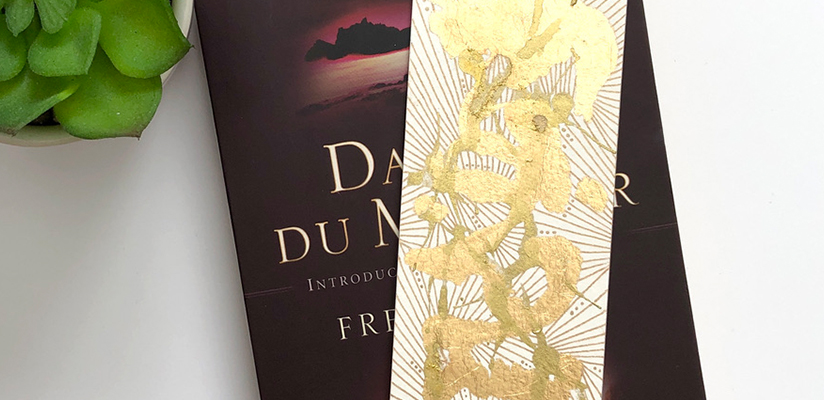 Header image for How To Make Unique Gold Bookmarks